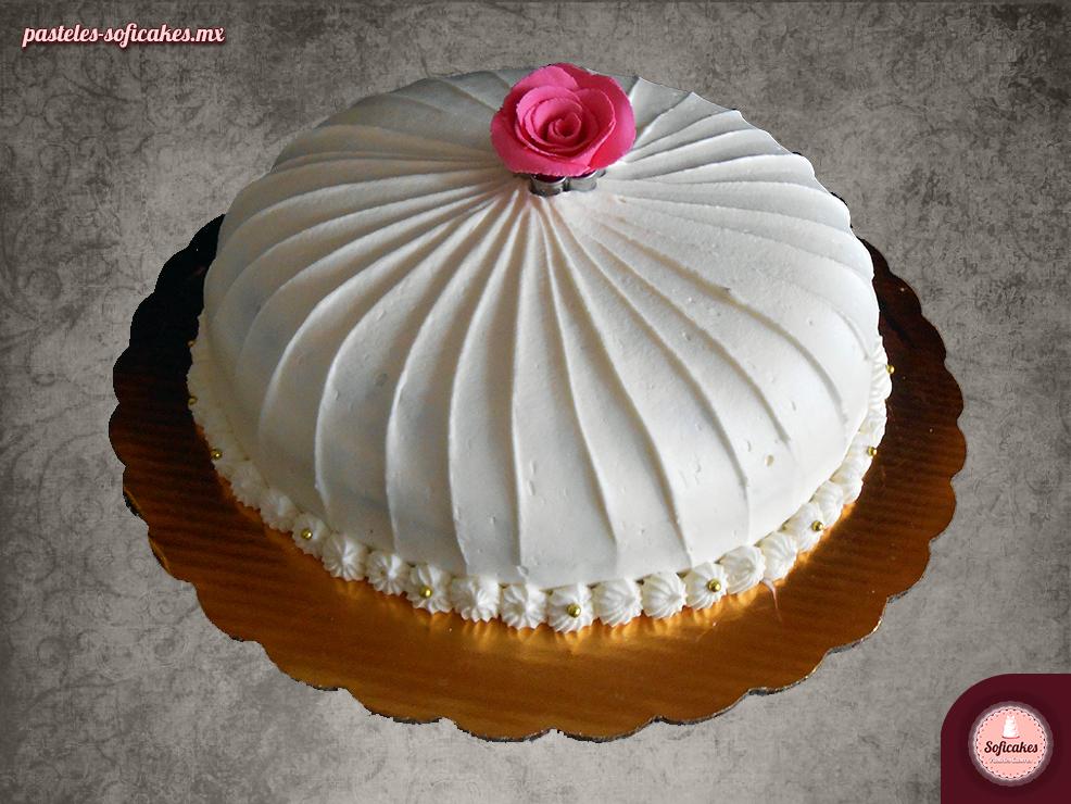 pastel-tadicional-boina-rosas